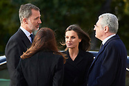 040419 Spanish Royals attends Funeral in memory of Jose Pedro Perez-Llorca