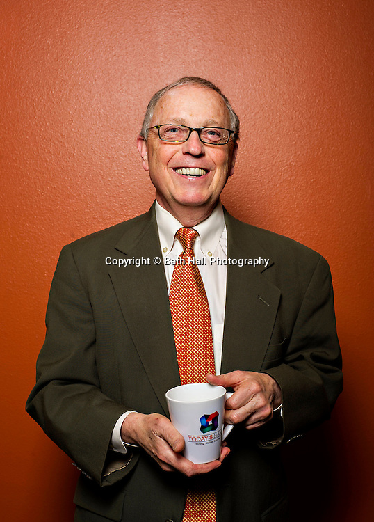 Larry Olsen, president of Today's Bank, in Fayetteville, Ark. Photo by Beth Hall