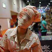 Cosplay fans came to London on October 27, 2017 for the MCM London Comic Con, which took place at the Excel Centre with hundreds of stall exhibition. The weekend offered comic fans the chance to dress up as their favourite characters and even compete in the EuroCosplay Championships.