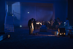October 9, 2018 - Berlin, Berlin, Germany - Rehearsal in ''Staats Oper  Usher'' music by Claude Debussy (Credit Image: © Beata Siewicz/Pacific Press via ZUMA Wire)