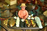 Manaus_AM, Brasil.<br /> <br /> Mercado Municipal de Manaus, Amazonas. Na foto detalhe do artesanato indigena.<br /> <br /> Municipal Market in Manaus, Amazonas. In this photo indian crafts.<br /> <br /> Foto: JOAO MARCOS ROSA / NITRO