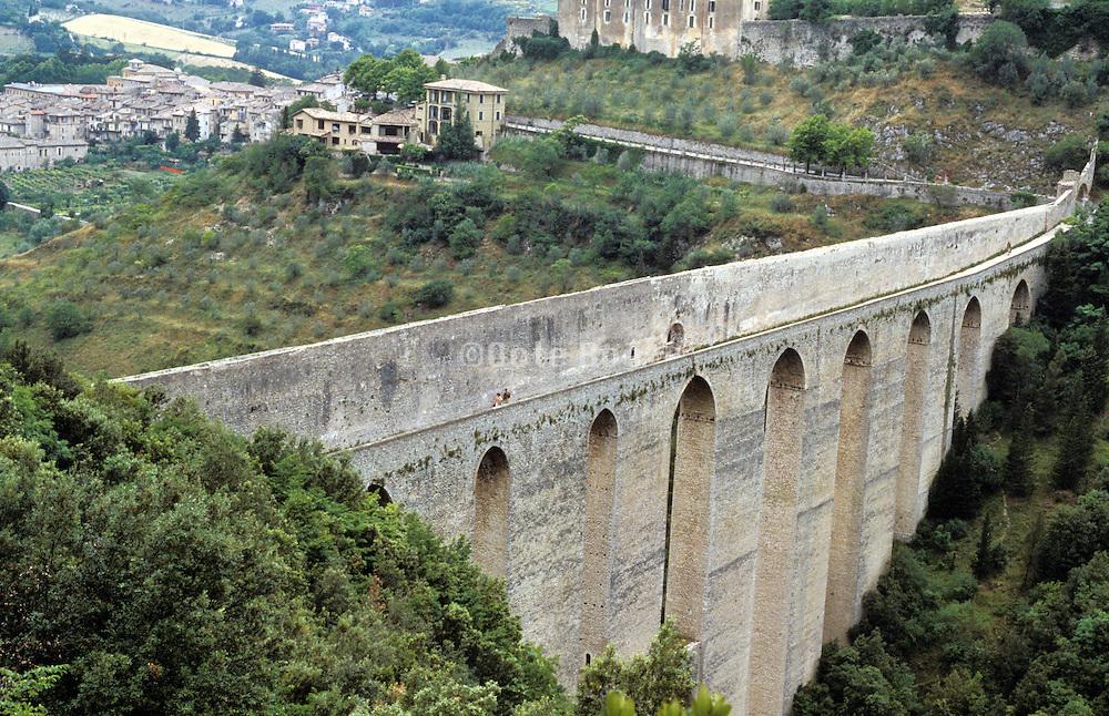 Ponte delle Torri Spoleto Italy