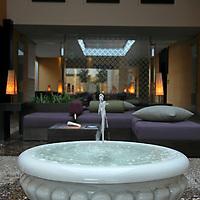 Africa, Morocco, Rabat. The Sofitel Rabat Jardin de Roses Hotel Spa.