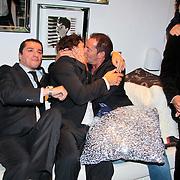 NL/Blaricum/20110915 - Lancering single Gordon & Los Angeles The Voices en CVSTOS watches, Gerard Joling kust vreemde man