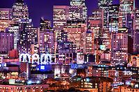 Downtown Seattle @ Twilight