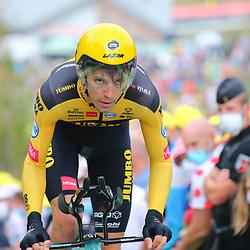 Tour de France 2020  <br /> Jumbo-Visma rider Sepp Kuss (USA / Team Jumbo - Visma)