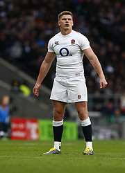 March 9, 2019 - London, England, United Kingdom - London, ENGLAND, 9th March .Owen Farrell of England .during the Guinness 6 Nations Rugby match between England and Italy at Twickenham  stadium in Twickenham  England on 9th March 2019. (Credit Image: © Action Foto Sport/NurPhoto via ZUMA Press)