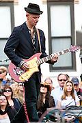 Ian Hunter and the Rant Band at the Hoboken   Music & Arts Festival 5/1/11