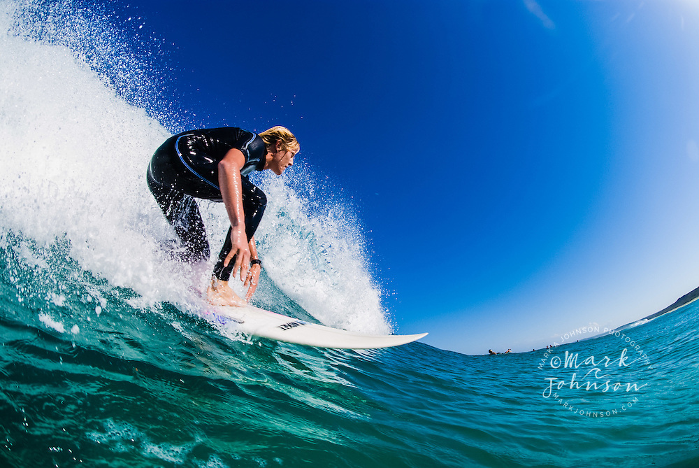 Young Man Surfing, Queensland, Australia ****Model Release available