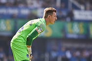 Portsmouth Goalkeeper, Craig MacGillivray (15) during the EFL Sky Bet League 1 match between Portsmouth and Coventry City at Fratton Park, Portsmouth, England on 22 April 2019.