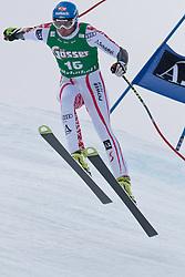 21.01.2011, Hahnenkamm, Kitzbuehel, AUT, FIS World Cup Ski Alpin, Men, Super G, im Bild Georg Streitberger (AUT) takes to the air competing in the 2011 Hahnenkamm Super Giant Slalom race (Super G)part of  Audi FIS World Cup races in Kitzbuhel Austria. EXPA Pictures © 2011, PhotoCredit: EXPA/ M. Gunn