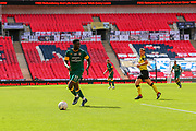 Notts County midfielder Enzio Boldewijn (11) during the Vanarama National League Promotion Final match between Harrogate Town and Notts County at Wembley Stadium, London, England on 2 August 2020.