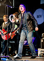 NOASIS live on stage at Pub in the Park at the Royal Victoria Park, Bath, on Saturday 19th June 2021