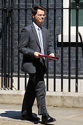London, June 20th 2017. Northern Ireland Secretary James Brokenshire leaves the weekly cabinet meeting at 10 Downing Street in London.