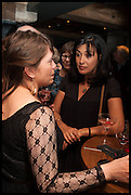 ALEXA HIRSCHBERG; POLLY SAMSON, Lynn Barber celebrates her 70th birthday and the publiction of ' A Curious Career. Hixter, 9a Devonshire Sq. London. 8 May 2014.