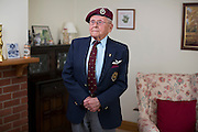 Mcc0061195 . Daily Telegraph<br /> <br /> Telegraph Magazine<br /> <br /> D Day Veterans<br /> <br /> Jack Griffiths, 94 . After a stint in the Signals as a despatch rider in France in 1940 Jack served in the Glider Pilot Regiment landing in Normandy on D Day on June 1944 and then Arnhem during operation Market Garden in September 1944 . He was taken prisoner at Arnhem and later escaped from his POW camp after the chaos of the Dresden fire bombings in April 1945 with two other pilots making there way across enemy territory arriving in Torgau to see the US and Russian forces meet .<br /> <br /> 23 April 2015