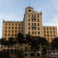 Central America, Cuba, Havana. The historic Hotel Nacional de Cuba, in Havana.