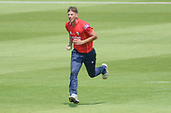 Essex bowler Matt Dixon during the Royal London One Day Cup match between Hampshire County Cricket Club and Essex County Cricket Club at the Ageas Bowl, Southampton, United Kingdom on 5 June 2016. Photo by David Vokes.