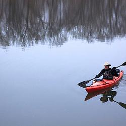 Paddling the Potomac in Winter