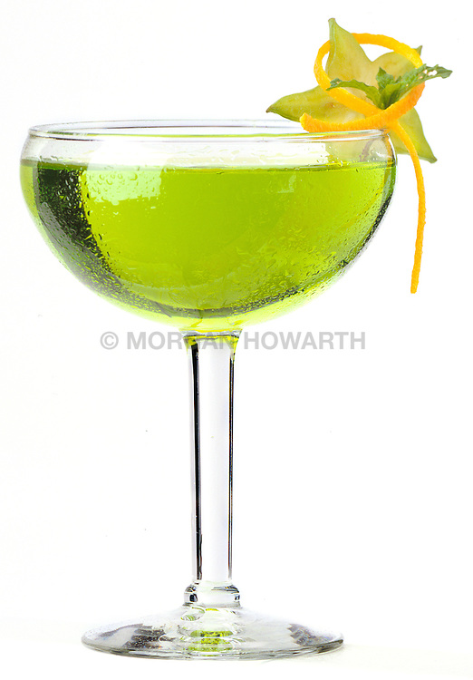 Mixed drink cocktail