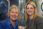 Date: 29/06/2017 Repro free:    Caption: <br /> Miriam Byrne, Managing Director and Paula Farrell, Business Development Manager, City Analysts Environmental Laboratories pictured at the first Marine Industry Trade Exhibition at the Digital Ocean Conference in Galway.  photo: xposure