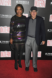 NEW YORK, NY - SEPTEMBER 21: Grace Hightower, Robert De Niro attends 'The Intern' New York Premiere at Ziegfeld Theater on September 21, 2015 in New York City...People:  Grace Hightower, Robert De Niro. (Credit Image: © SMG via ZUMA Wire)