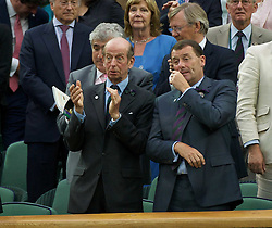 23.06.2011, Wimbledon, London, GBR, Wimbledon Tennis Championships, im Bild Edward Windsor, also known as the Duke of Kent, applauds the action during the Gentlemen's Singles 2nd Round match on day four of the Wimbledon Lawn Tennis Championships at the All England Lawn Tennis and Croquet Club, EXPA Pictures © 2011, PhotoCredit: EXPA/ Propaganda/ *** ATTENTION *** UK OUT!