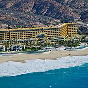 Aerial view of Marquis Los Cabos hotel. San Jose del Cabo. Baja California Sur, Mexico.