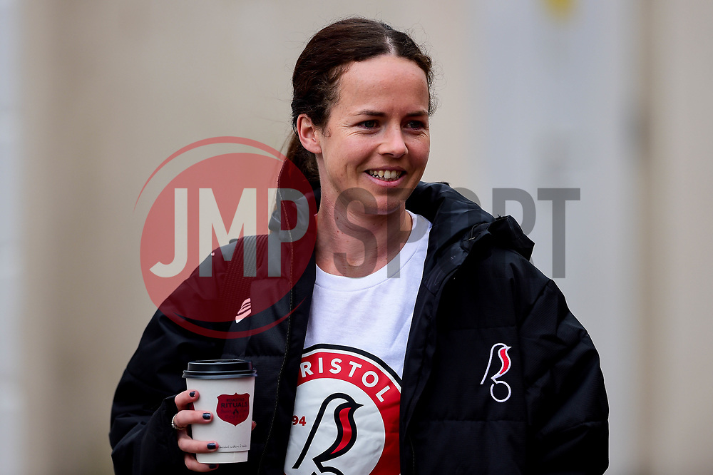 Bristol City Women arrives at  prior to kick off - Mandatory by-line: Ryan Hiscott/JMP - 07/09/2019 - FOOTBALL - Ashton Gate - Bristol, England - Bristol City Women v Brighton and Hove Albion Women - FA Women's Super League