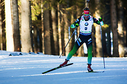 Klemen Bauer (SLO) during the Men 20 km Individual Competition at day 1 of IBU Biathlon World Cup 2019/20 Pokljuka, on January 23, 2020 in Rudno polje, Pokljuka, Pokljuka, Slovenia. Photo by Peter Podobnik / Sportida