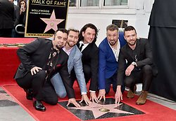 NSYNC honored with star on the Hollywood Walk of Fame. Hollywood, California. Pictured: Ellen DeGeneres. EVENT April 30, 2018. 30 Apr 2018 Pictured: NSYNC,Lance Bass,JC Chasez,Joey Fatone,Chris Kirkpatrick,Justin Timberlake. Photo credit: AXELLE/BAUER-GRIFFIN/MEGA TheMegaAgency.com +1 888 505 6342