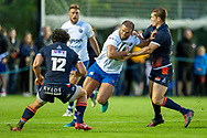 Jamie Roberts of Bath Rugby during the Rugby Friendly match between Edinburgh Rugby and Bath Rugby at Meggetland Sports Complex, Edinburgh, Scotland on 17 August 2018.