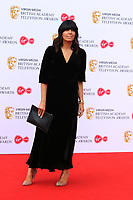 Claudia Winkleman, Virgin Media British Academy (BAFTA) Television Awards, Royal Festival Hall, London, UK, 12 May 2019, Photo by Richard Goldschmidt