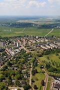 Nederland, Noord-Brabant, Den Bosch, 27-05-2013; Plan Zuid / De Pettelaar. Stadsuitbreiding en nieuwbouwwijk uit de jaren vijftig en zestig van de vorige eeuw, wederopbouwperiode. Groen en ruim opgezet.<br /> New residential area built in the fifties and sixties in Den Bosch. Spacious and plentyful green areas.<br /> Reconstruction area.<br /> luchtfoto (toeslag op standard tarieven)<br /> aerial photo (additional fee required)<br /> copyright foto/photo Siebe Swart
