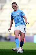 Manchester City midfielder Sam Mewis (22) during the FA Women's Super League match between Manchester United Women and Manchester City Women at Leigh Sports Village, Leigh, United Kingdom on 14 November 2020.