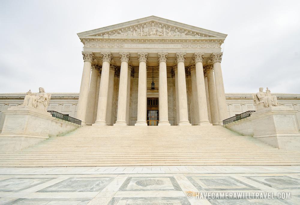 United States Supreme Court building on Capitol Hill, Washington DC