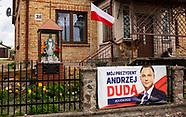 Plakaty wyborcze Andrzeja Dudy na Podlasiu