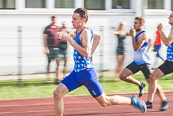 Lovro Mesec Kosir competes during day 1 of Slovenian Athletics Cup 2019, on June 15, 2019 in Celje, Slovenia. Photo by Peter Kastelic / Sportida