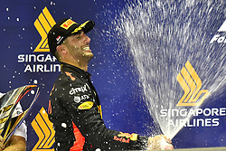September 17, 2017 - Singapore, Singapore - Motorsports: FIA Formula One World Championship 2017, Grand Prix of Singapore, ..#3 Daniel Ricciardo (AUS, Red Bull Racing) (Credit Image: © Hoch Zwei via ZUMA Wire)