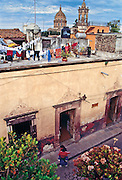 San Miquel de Allende, Mexico provides interesting views on all different levels