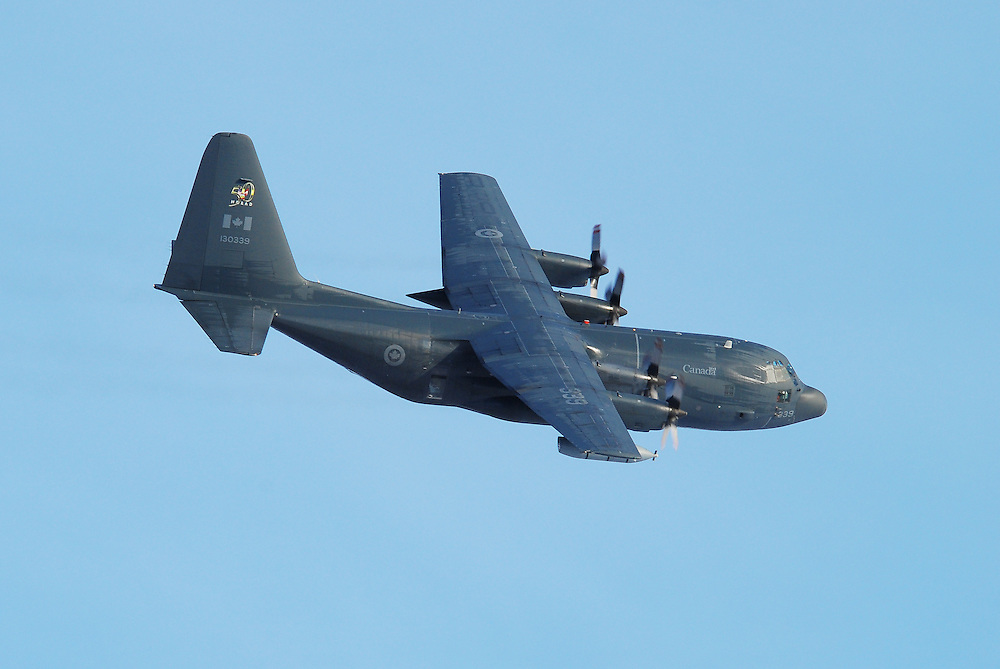 RCAF C-130 Hercules in flight