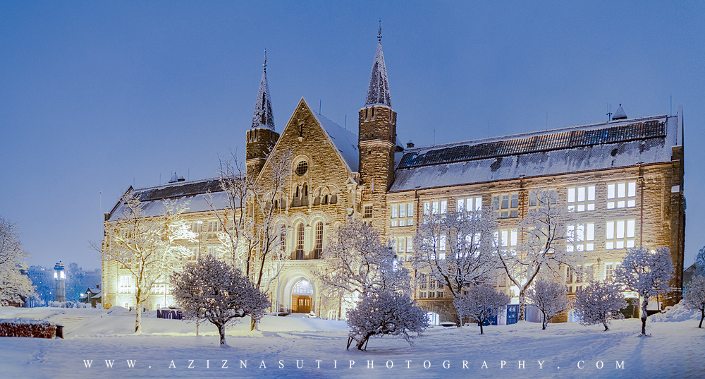 www.aziznasutiphotography.com                           Gløshaugen is the site of NTNU Gløshaugen, the main campus and buildings of the Norwegian University of Science and Technology (NTNU). It was the previously the site of the Norwegian Institute of Technology (NTH) which became a part of the NTNU merger. Most of the university science and engineering buildings are located at Gløshaugen.
