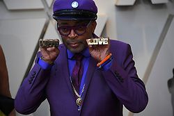 February 24, 2019 - Los Angeles, California, U.S - SPIKE LEE during red carpet arrivals for the 91st Academy Awards, presented by the Academy of Motion Picture Arts and Sciences (AMPAS), at the Dolby Theatre in Hollywood. (Credit Image: © Kevin Sullivan via ZUMA Wire)