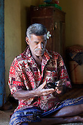 Kava ceremony, Naveyago Village, Sgatoka Valley, Viti Levu, Fiji