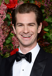 Andrew Garfield attending the Evening Standard Theatre Awards 2018 at the Theatre Royal, Drury Lane in Covent Garden, London. Restrictions: Editorial Use Only. Photo credit should read: Doug Peters/EMPICS