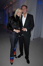 MR & MRS SEBASTIAN VAN DAM she was Clare Beckwith attending the Tag Heuer party where an exhibition of photographs by Mary McCartney celebrating 15 exception women from 15 countries was unveiled at the Royal College of Arts, Kensington Gore, London on 8th February 2007.<br />