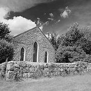 Avebury Chapel - Avebury, UK - Infrared Black & White