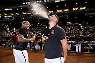PHOENIX, AZ - SEPTEMBER 29: The D-backs host the Padres. (Photo by Sarah Sachs/Arizona Diamondbacks)