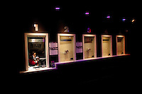 Ticket booth at The Rock and Roll Hall of Fame Annex in New York City..(Photo by Robert Caplin)..