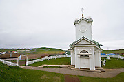 Ss. Peter and Paul Russian Orthodox Church, St. Paul Island, Pribilof Island, Alaska. Digital original ©Robin Brandt  #07_1401